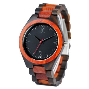 Relógio feminino de madeira YISUYA W24900