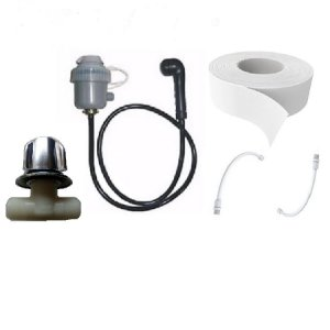 kit Aquecedor 220v ou 110v Mais Registro Para Lavatório