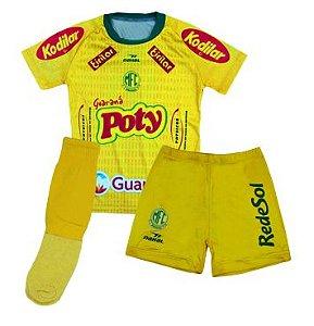 Kit infantil Mirassol FC - 2019 - Amarelo