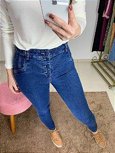 Jeans Skinny Botões