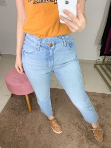 Mom Jeans Cós Deslocado