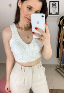Top Cropped Tricot