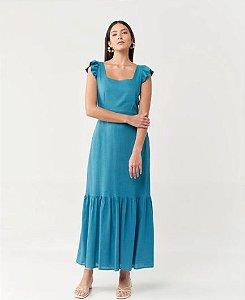 Vestido Midi Laço
