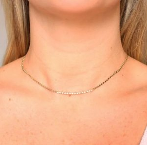 Choker Diamantada