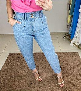Calça Jeans Baggy Cós Largo