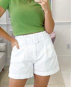 Shorts Sarja Cinto