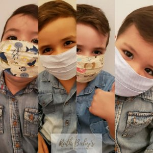 Máscara de proteção individual em tricoline dupla