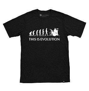 Camiseta This is Evolution Preta