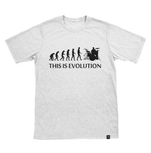 Camiseta This is Evolution Branca
