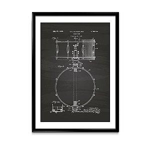 Quadro Patente Caixa Slingerland