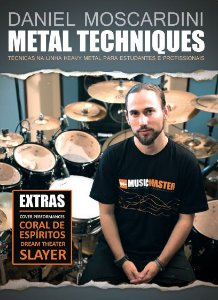 DVD Daniel Moscardini - Metal Techniques