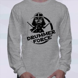 Camiseta Drummer Force Manga Longa