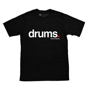 Camiseta Drums Preta