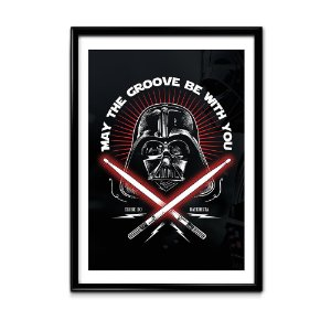 Quadro May The Groove Be With You