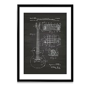 Quadro Patente Guitarra