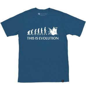 Camiseta This is Evolution Azul