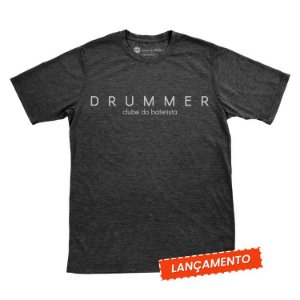 Camiseta Drummer Bordado