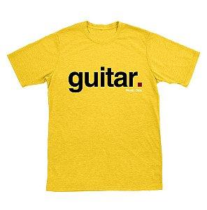 Camiseta Guitar Amarela
