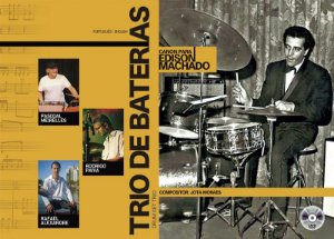 Livro Trio de Bateras - Canon para Edson Machado
