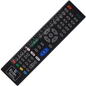 Controle remoto Para TV LED e Smart Audisat (Todos Modelos)