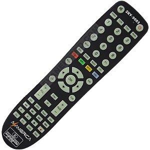 Controle remoto Para receptor Azamerica SKY-9083