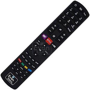 Controle Remoto TV LED Philco RC3100L02 com Netflix e Yahoo! (Smart TV)