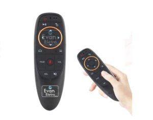 Controle Remoto Air Mouse para Receptor IN X PLUS