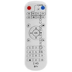 Controle Remoto Para Receptor BTV 2.4G