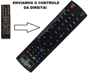 Controle Remoto Para Receptor Free i Toy HD