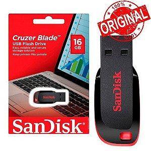 PenDrive 16GB Sandisk Cruzer Blade Original
