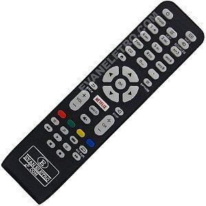 Controle Remoto TV LED AOC RC1994713 / LE32S5760 / LE43S5760 / LE43S5970 / LE43U7970 com Netflix