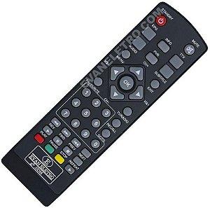Controle Remoto para receptor ITV Figth / OPEN