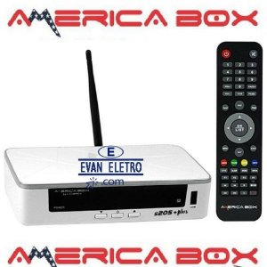 Receptor AmericaBox S205+ (R$630 via Transferência bancaria)