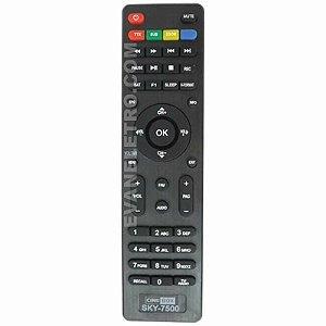 Controle remoto para Receptor SKY-7500 / IHS-7080 / LE-7550