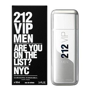Perfume 212 Vip Men By Carolina Herrera Eau De Toilette Masculino - 100 ml
