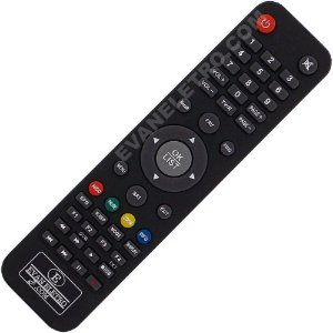 Controle Remoto Para Receptores Globalsat Gs111 / Gs300 / S1001 / S1005