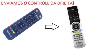 Controle Remoto Receptor Alphasat dC Dongle Connect