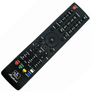 Controle Remoto receptor Audisat A5 Plus