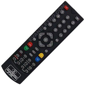 Controle Remoto Para Receptor Azamérica S809