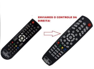 Controle Remoto Receptor Azamérica F40