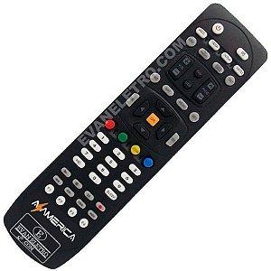 Controle Remoto Receptor Azamérica S1006+ / S1006 Plus