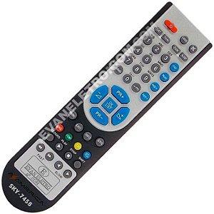 Controle Remoto Receptor Azamerica SKY-7458 / LE922
