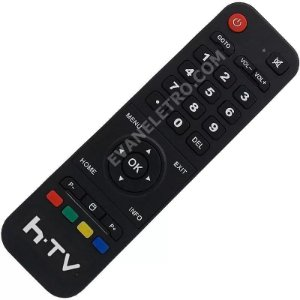 Controle Remoto Para Receptor HTV 5 / HTV5