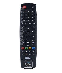 Controle Remoto Para Receptor Duosat Switch On UHD 4K