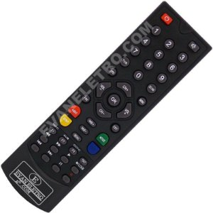 Controle Remoto Receptor Globalsat GS120 Plus