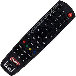 Controle Remoto Receptor Phantom Rio TV HD