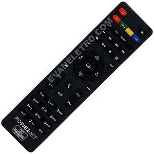 Controle Remoto para Receptor Power Net P99 Platinum HD
