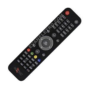 Controle Remoto Receptor Satbox Vivo X HD