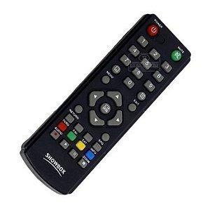 Controle Remoto Receptor Showbox Sat HD Plus