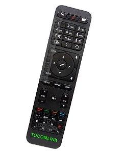 Controle Remoto Receptor Tocomlink Terra HD